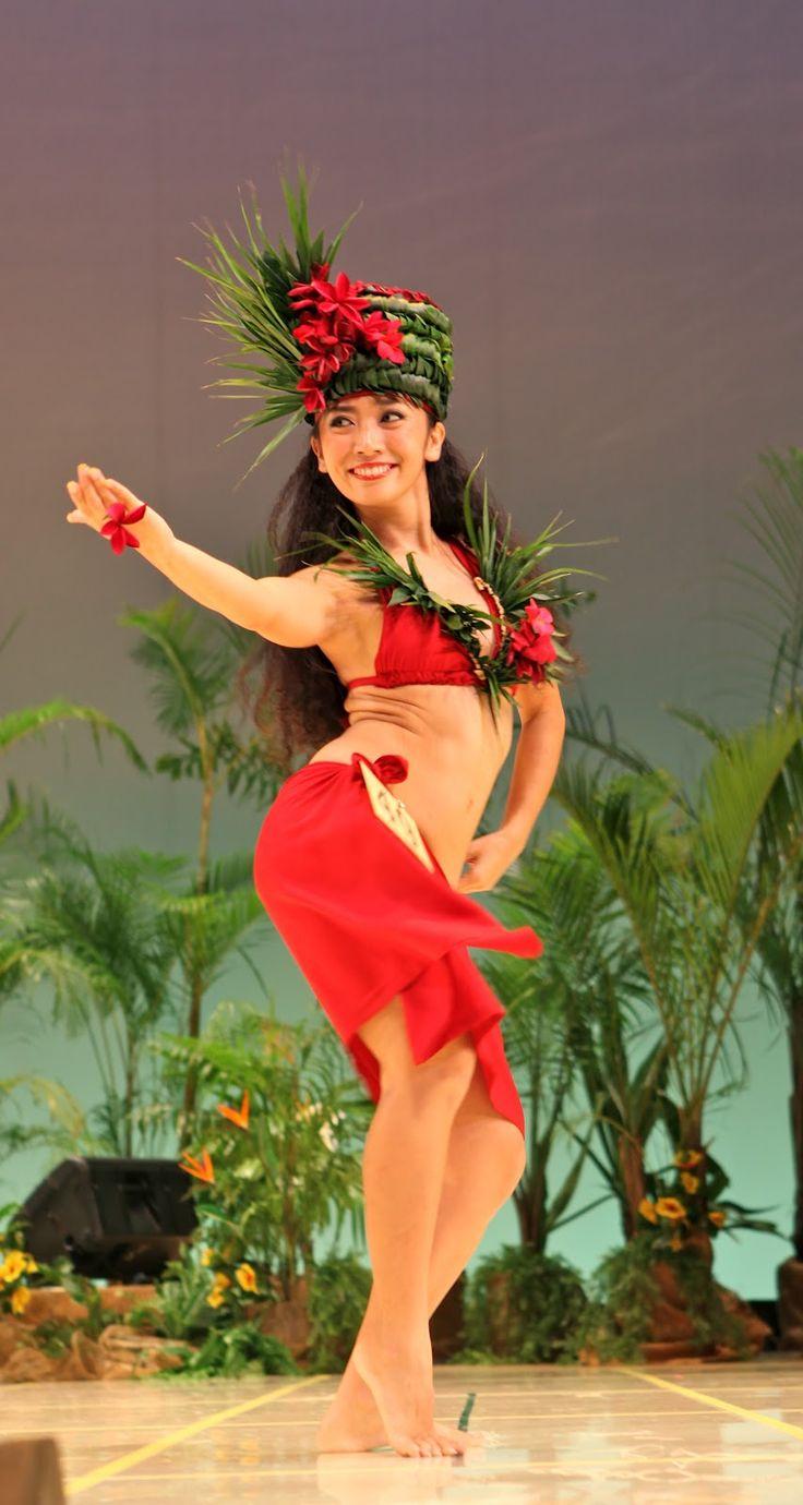 DANCE~Hula dancer Tahiti