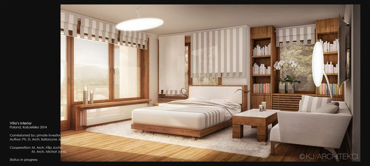 Sleeping Room Design | Projekt Sypialni