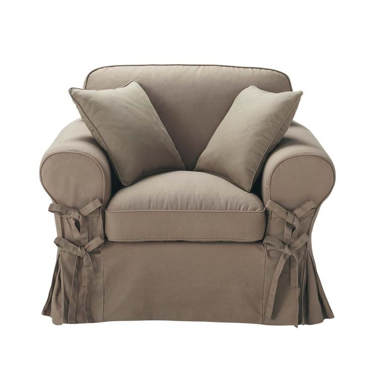 Sessel taupe Butterfly