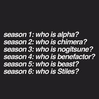 teen wolf, season 6, and stiles stilinski this makes  me so sad omg i can't wait for season 6 why does it start in november?!?!