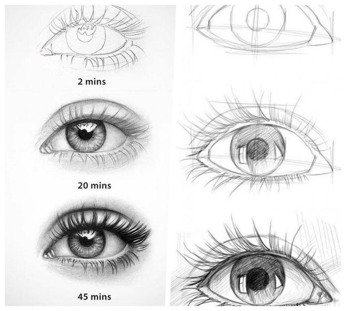 1001 Ideen Und Inspirationen Wie Sie Auge Zeichnen