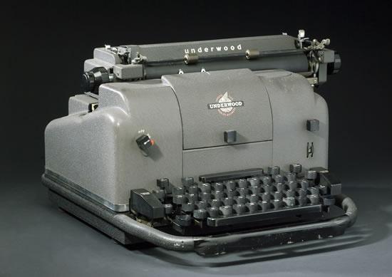 1955 Electric Typewriter!