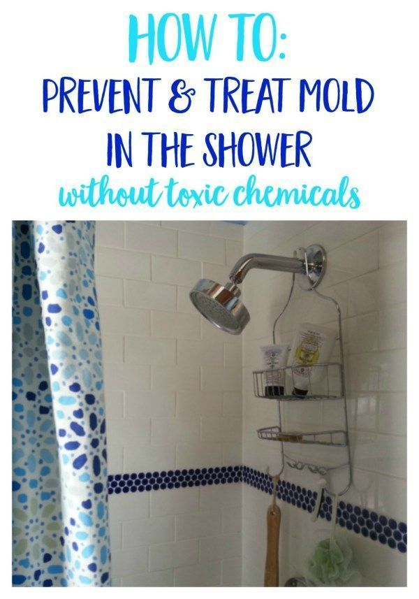 DIY cleaning recipes to prevent and treat mold in the shower and bathroom - using natural ingredients like vinegar, baking soda and essential oils.| home remedies | cleaning hacks and tips