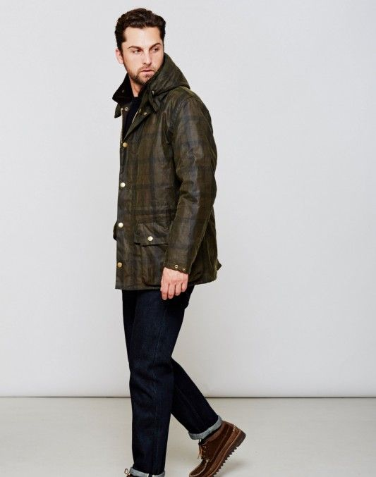 Barbour Beattock Wax Down Jacket Brown £298.90 | Shop Now at TheIdleMan.com | #StyleMadeEasy