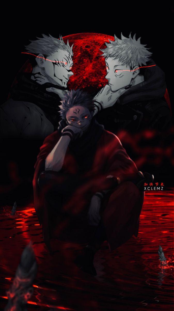 Jujutsu Kaisen Wallpaper Sukuna In 2021 Jujutsu Cool Anime Pictures Anime Background