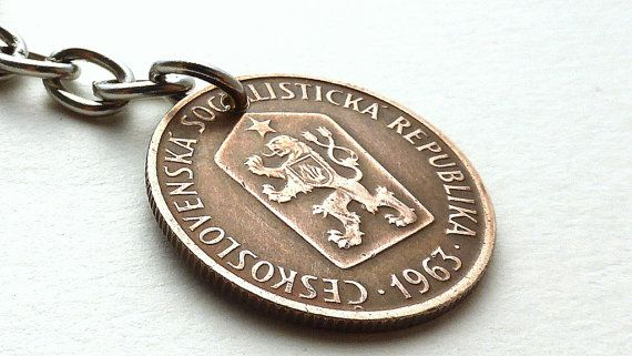 Hey, I found this really awesome Etsy listing at https://www.etsy.com/listing/295220701/czechoslovakian-coin-charm-womans