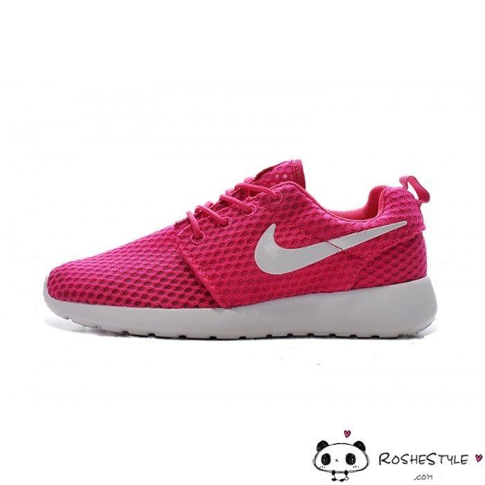 Nike Roshe Run One BR Pink White Women