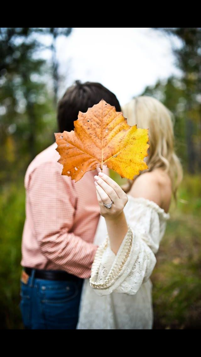Fall engagement photos!