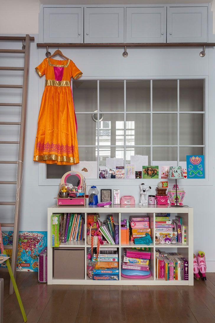 Живопись и смелые оттенки: истинно парижская квартира   Пуфик - блог о дизайне интерьера