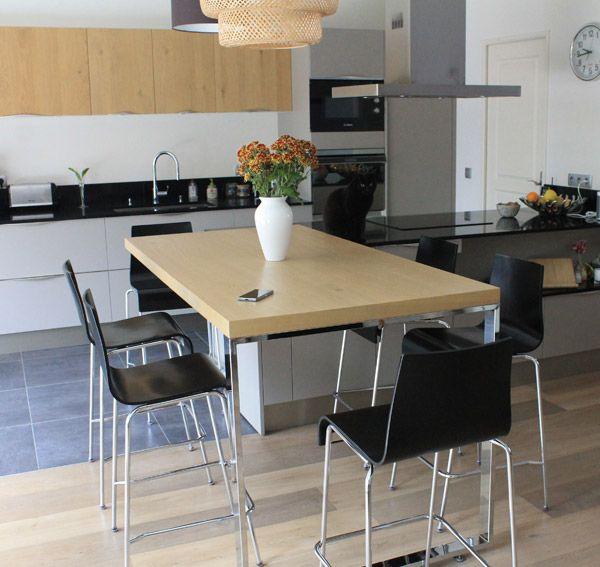 30 best meubles de cuisine alterego design images on pinterest bar stools countertop and. Black Bedroom Furniture Sets. Home Design Ideas