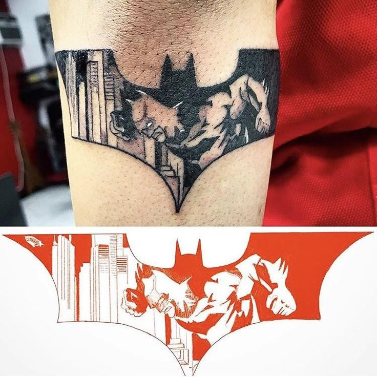 Batman tattoo. By Kahi @ SouthSide Ink. Honolulu HI