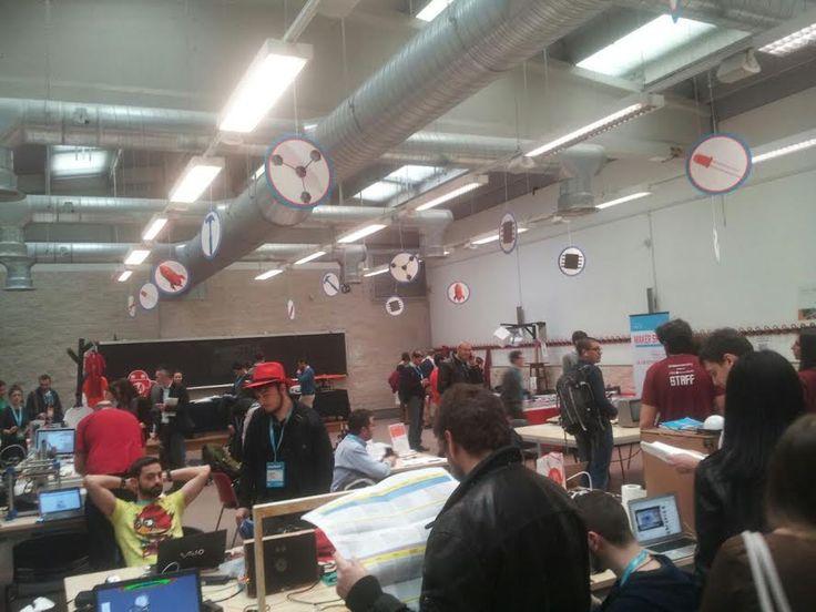 #Codemotion zona Maker Faire Rome.