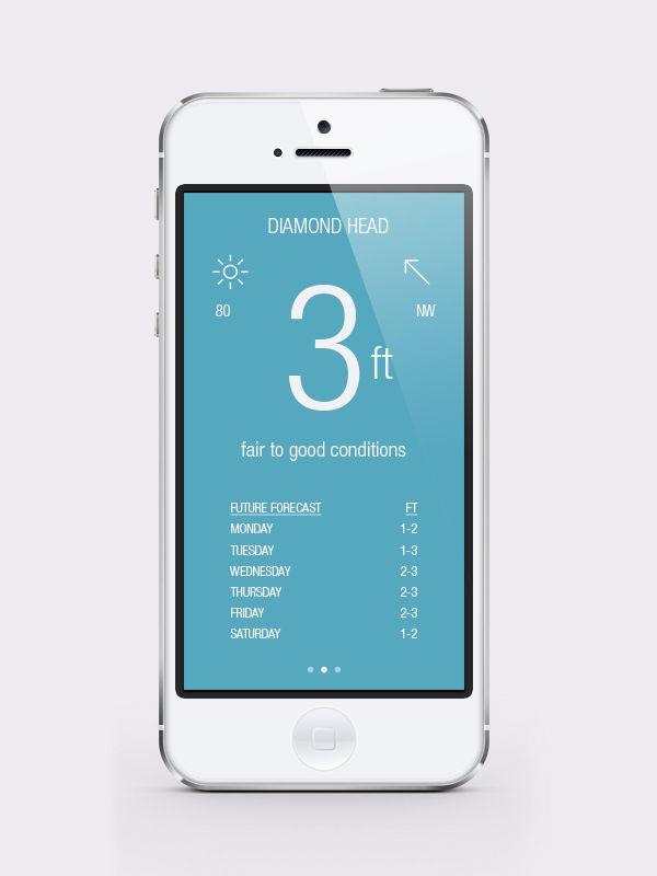 Surf HI iPhone app - Christopher Vinca