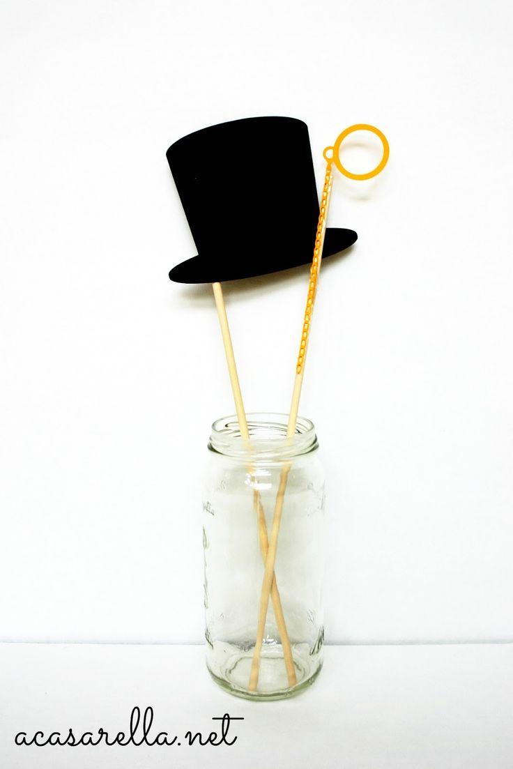 wedding photo booth props printable%0A  u    A Casarella  DIY Photo Booth Props