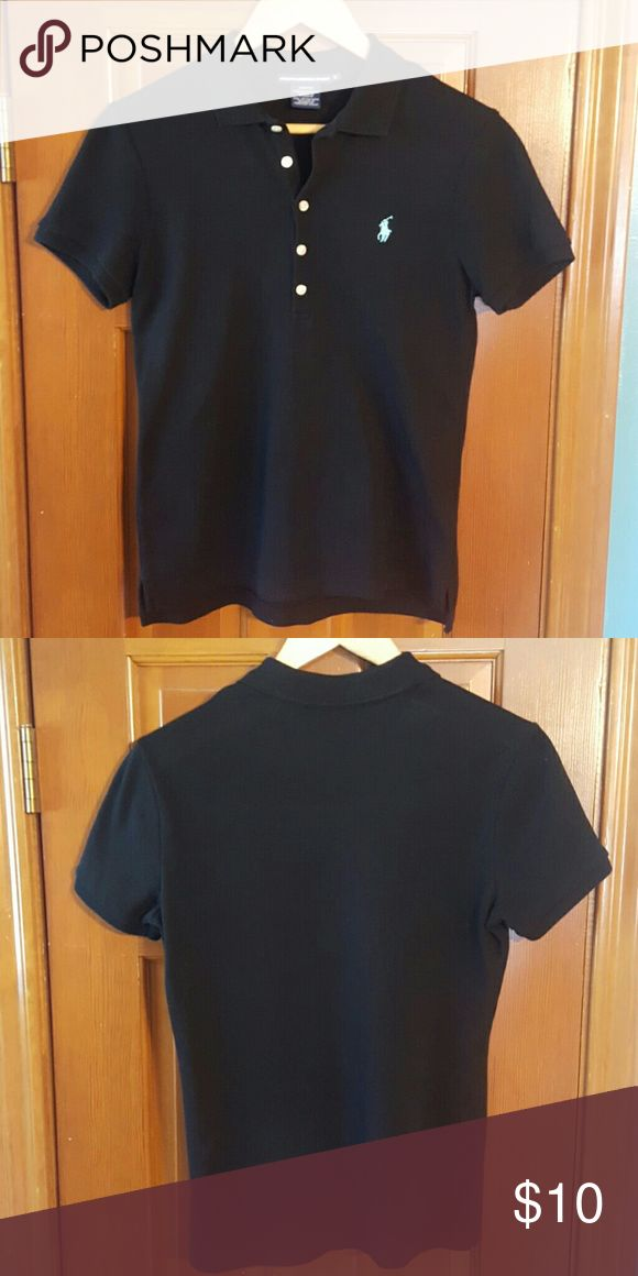 Ralph Lauren Sport Polo Shirt Slim Fit.  100% Cotton. Worn twice.  In very good condition. Fit runs small, so shirt fits more like a small.  FREE SHIPPING ON CUSTOM BUNDLES--Send me a message requesting a custom bundle and I will apply $6 discount to the total amount payable to me ( meaning that I will cover the shipping cost by applying the $6 discount).💕 Tops Tees - Short Sleeve