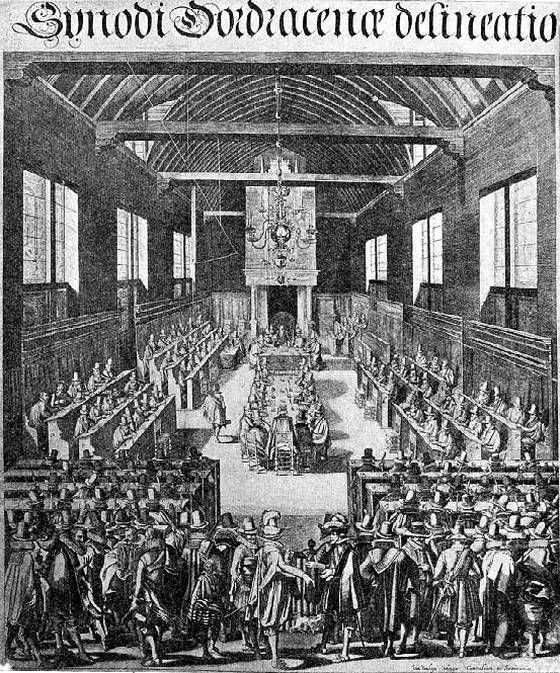 13 november 1618 ♦ Begin van de Synode van Dordrecht.