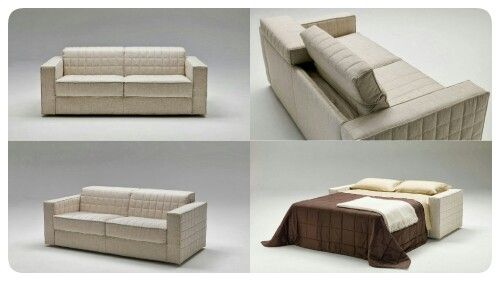 Grand Lit the sofabed that converts into a conventional bed with a 200 cm mattress.  Milano Bedding http://www.milanobedding.it/