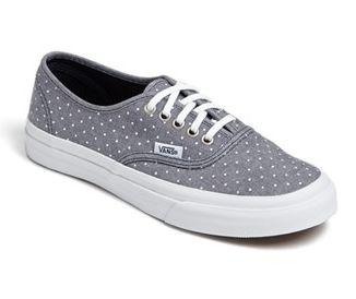 Vans Slim Authentic Polka Dot sneaker #vans
