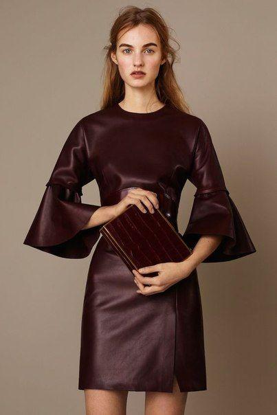 Кожаные платья выкройки