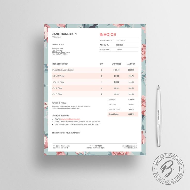 The 25+ best Microsoft word invoice template ideas on Pinterest - invoice word