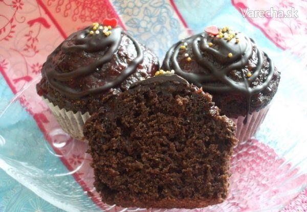 Sacherové muffiny