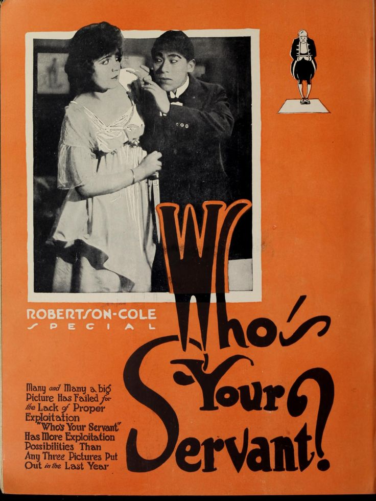 "The Moving Picture World – March 6 1920: Lois Wilson in ""Who's Your Servant"""