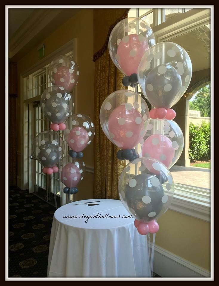 Balloon Ideas Balloon Decorations Baby Shower Balloons