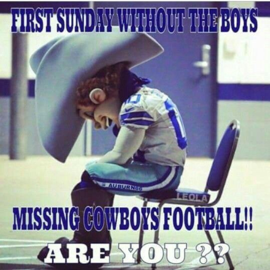 Missed my Cowboys today!!