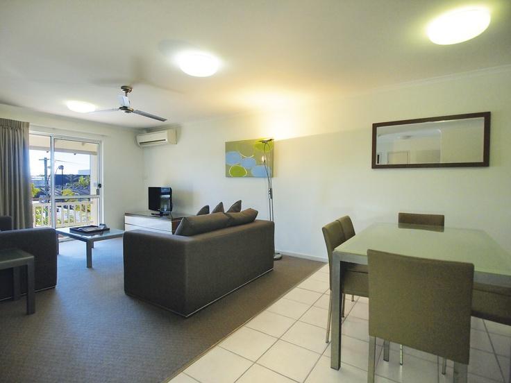 Oaks Oasis, Caloundra - 2 Bed Apt #39 - Living