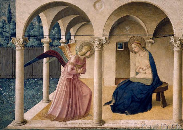 Fra Angelico - The Annunciation to Mary