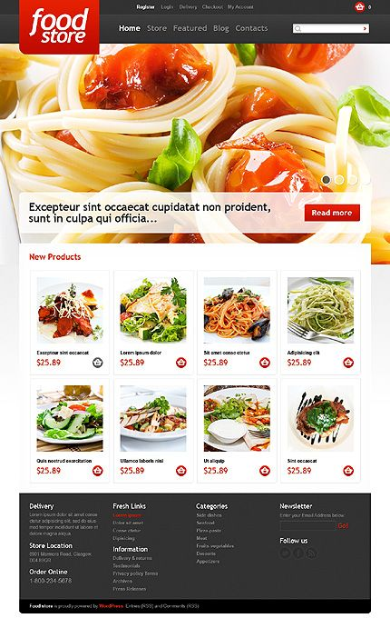 Food & Drink inspirations at the Coffee Break? Browse for more Food & Drink and Jigoshop templates! // Regular price: $115 // Unique price: $4500 // Sources available: .PSD, .PHP, This theme is widgetized // #FoodDrink #Jigoshop #templates #foodStore #smartphone #tablet