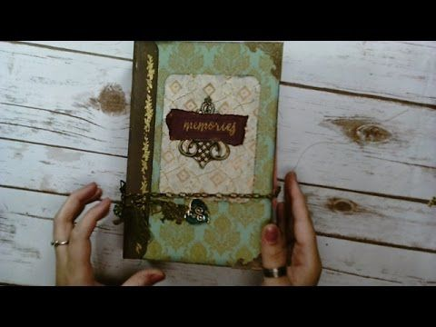 How to make an EASY and QUICK Junk Journal Pocket. - YouTube