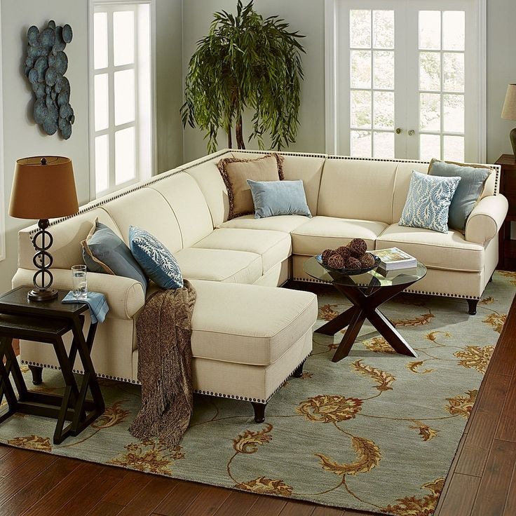 pier 1 living room rugs%0A Build Your Own Carmen Sectional  Ecru   Pier   Imports  Living Room