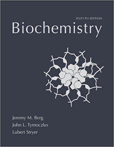 biochemistry berg stryer test bank