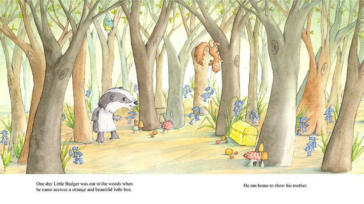 Childrens Watercolour Picture book Images - Sarah Arnold Illustration
