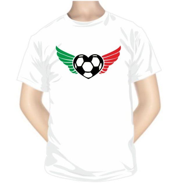 Tee shirt de sport : cœur - Italie - Pour les sportifs - SiMedio