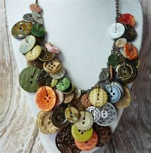 Vintage Button Necklace....
