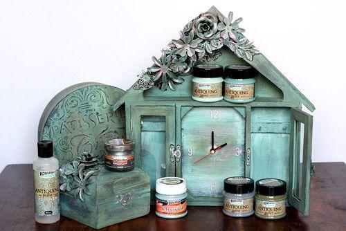 Pentart dekor: Új Pentart termék, Antikoló festék