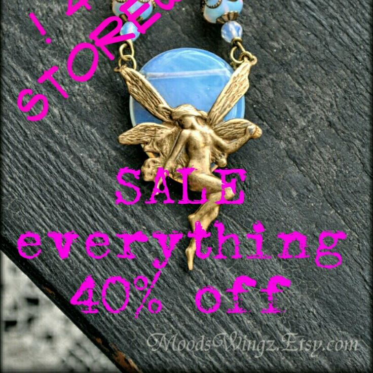 SALE MoodsWingz.Etsy.com 40% off everything in the store. very Limited time only!