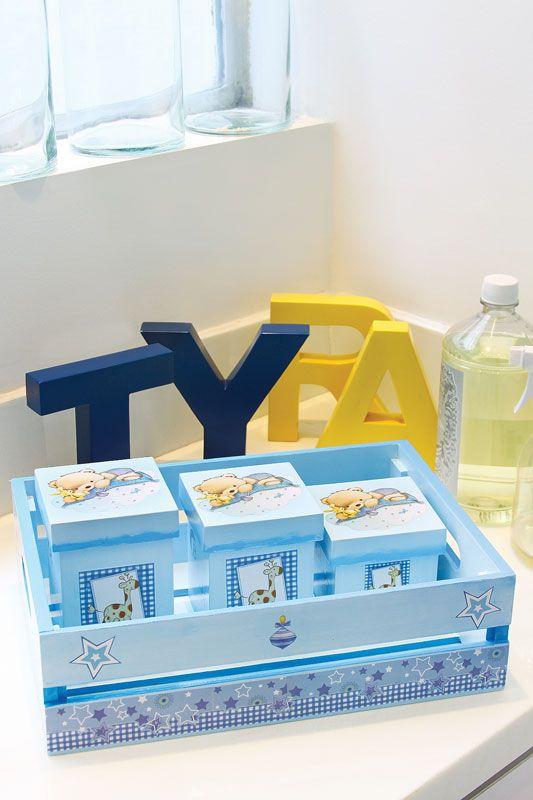 Kit para quarto de bebê / DIY, Craft, Upcycle