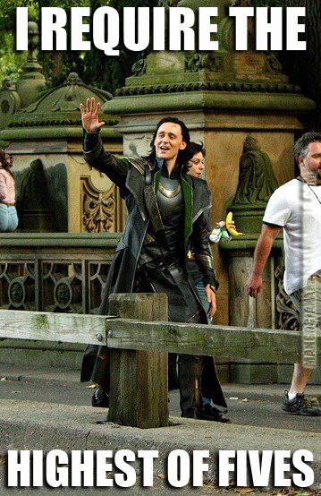 """Loki Loves Bananas Pinner: """"What's with the woman carrying a banana?"""""""