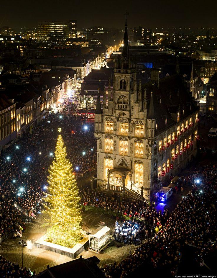 Gouda The Netherlands Christmas Tree