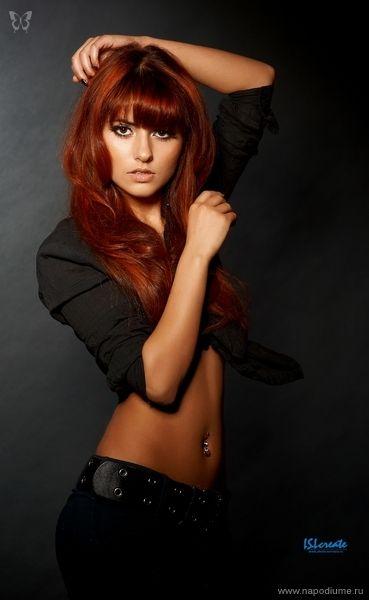 Model: Julia Lily Kova Zabolotnikova | Redheads ...