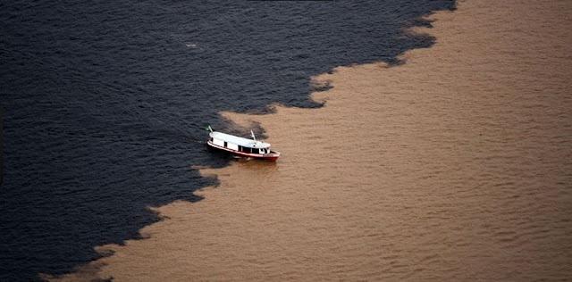 Meeting of the Waters - Manaus, Amazonas