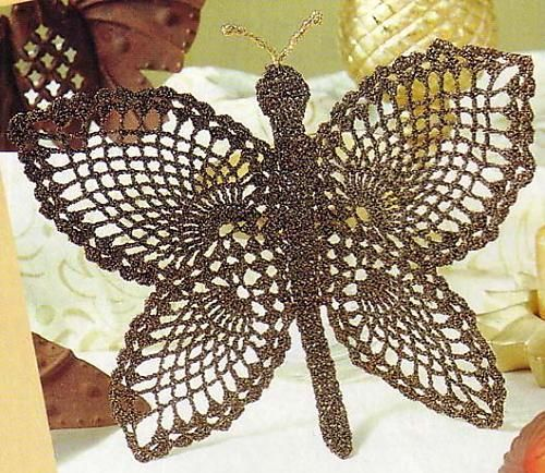 crochet butterfly - Gitte Andersen - Álbuns da web do Picasa...FREE BOOK OF BUTTERFLIES AND LOADS OF DIAGRAMS!!