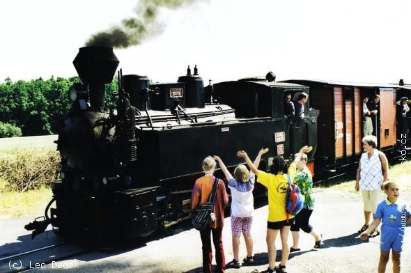 Kolej wąskotorowa Třemešná ve Slezsku - Osoblaha -