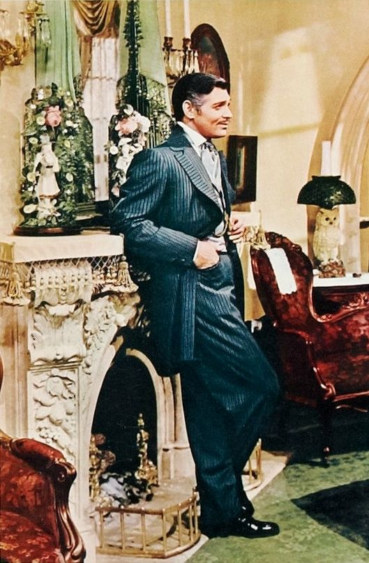 "Clark Gable - ""Gone With The Wind"" (1939) - Costume designer : Walter Plunkett"