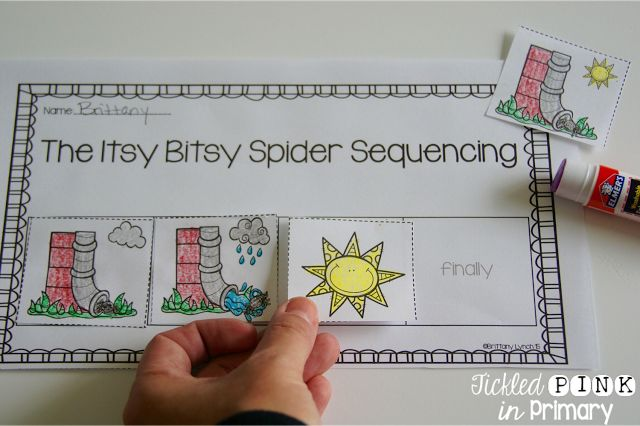 Sequencing sheets for 10 different nursery rhymes - lots of activities included in this Nursery Rhyme Bundle