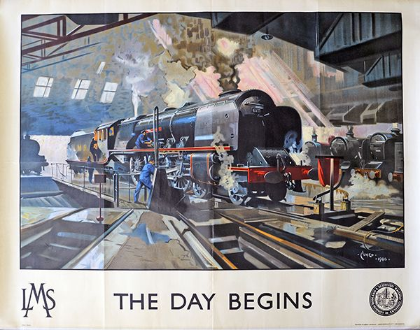 Terence Cuneo Day begins LMS poster