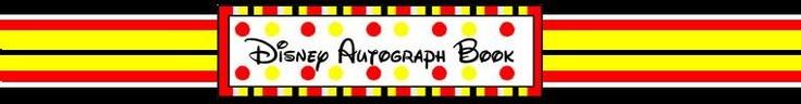 Handmade Personalized Disney Autograph by disneyautographbook